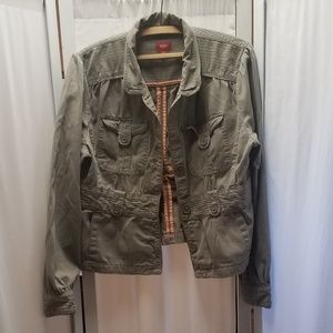 Mossimo light weight olive drab jacket